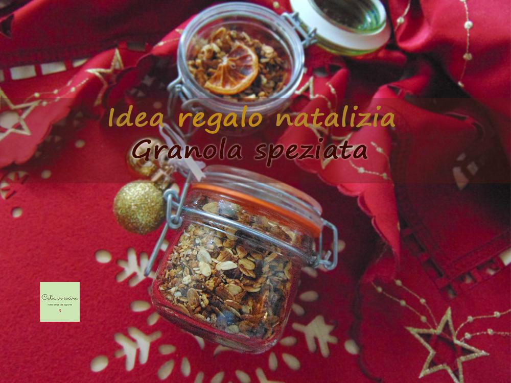 granola natalizia idea regalo