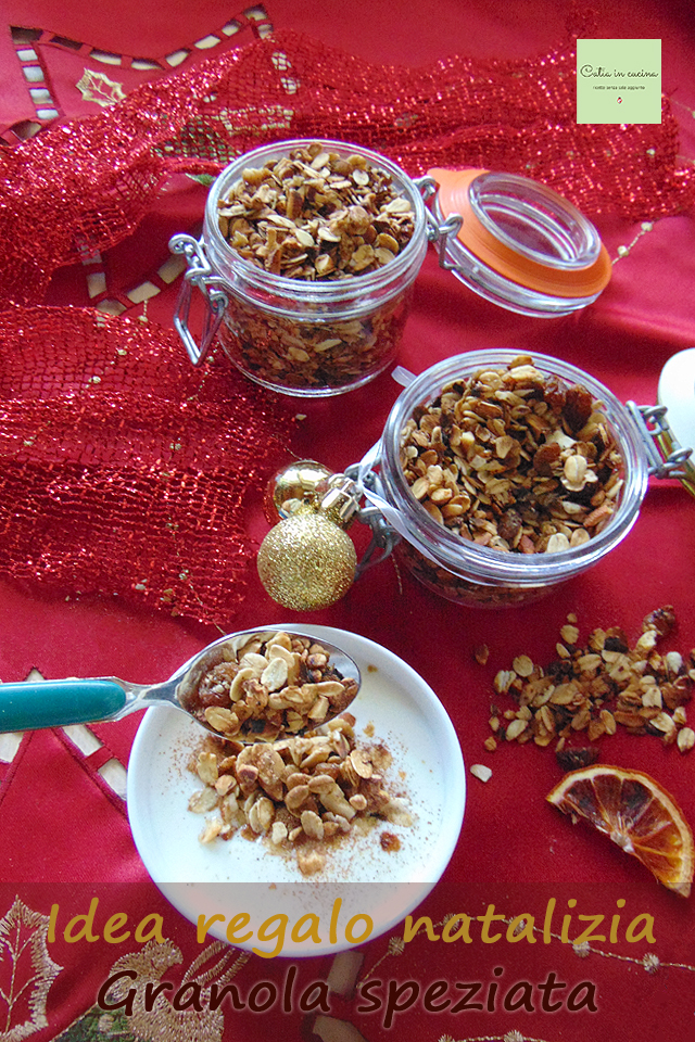 granola speziata e kefir