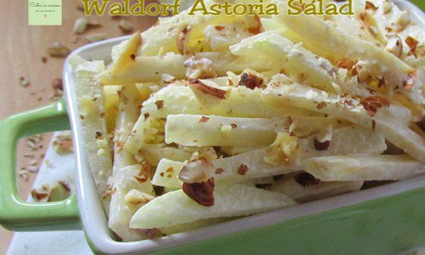50 sfumature di…mela – Waldorf Astoria Salad