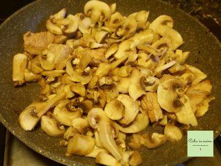 bocconcini di tacchino ai funghi cottura
