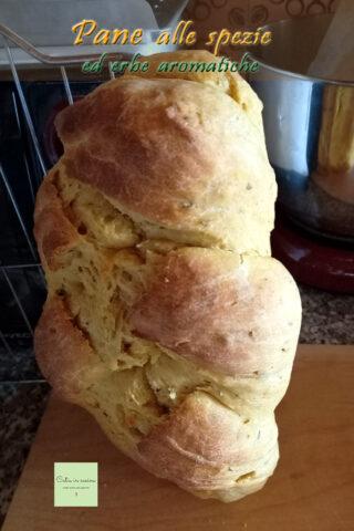 pane speziato in piedi
