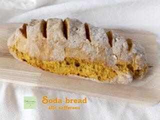 soda bread giallo allo zafferano 2