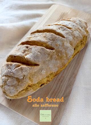 soda bread giallo allo zafferano filone