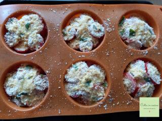 tortini di pomodorini da cuocere
