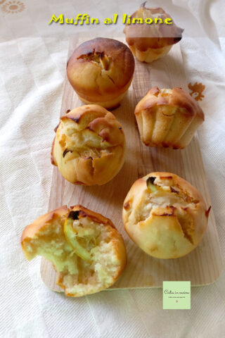muffin al limone senza uova