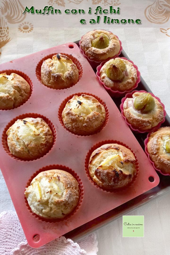 muffin per la merenda appena sfornati