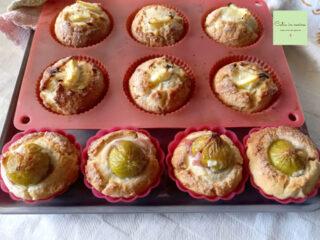 muffin per la merenda cotti
