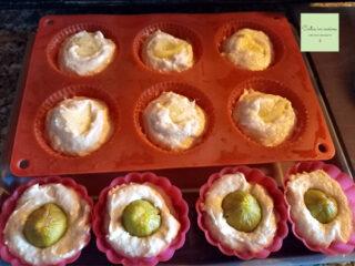 muffin per la merenda da cuocere