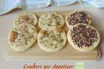 Crackers per Appetizer