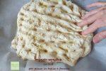 impasto semplice con licoli per pizza in teglia e focacce