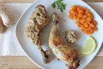 Cosce di pollo al limone e zenzero