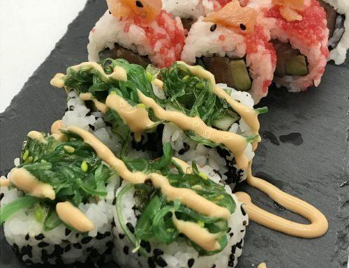 Sushi: uramaki e hosomaki