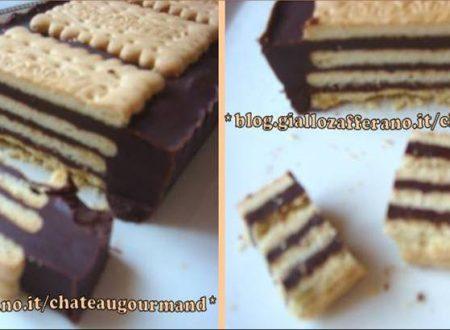 Mattonella al ciocco-biscotto