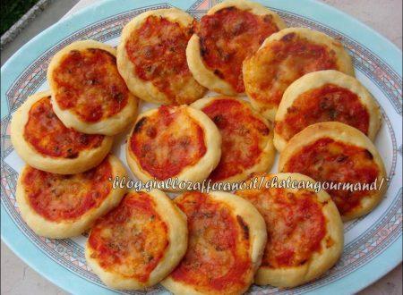 Pizzette al pomodoro (delle sorelle Simili)