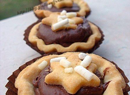 Crostata e crostatine alla Nutella