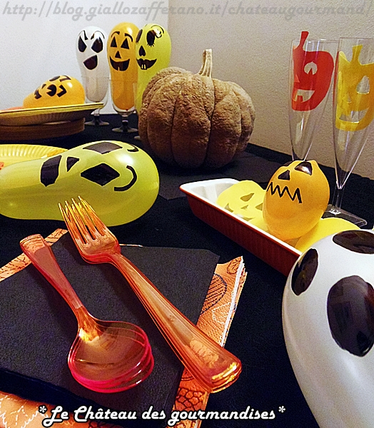 Come decorare la tavola per Halloween