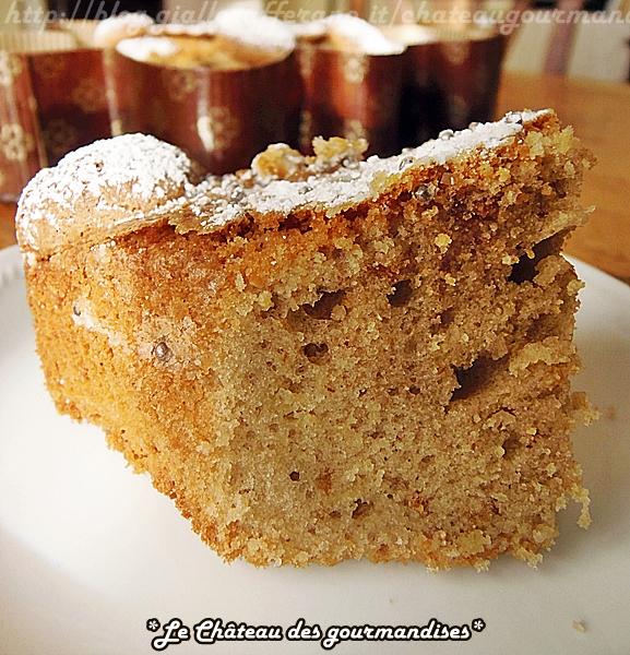 Torta morbida con amaretti, caffè e panettone