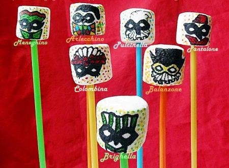 Marshmallows pops e il Carnevale di Fano