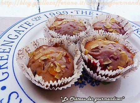 Muffins ai frutti di bosco, yogurt e mandorle