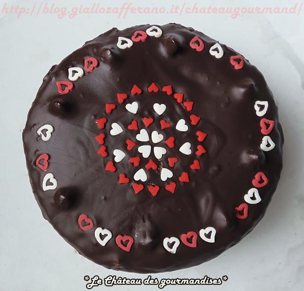 Torta panna e cioccolato per San Valentino