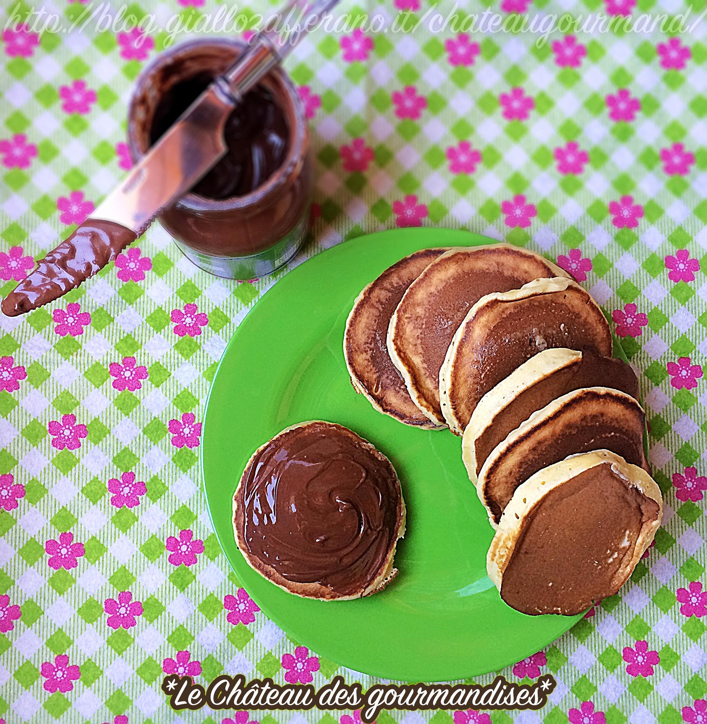 Mini pancakes giapponesi Dorayaki