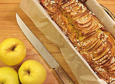 Torta di mele e cocco senza burro