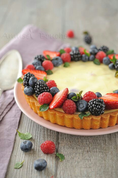 Recipe Tart Base With Cake In