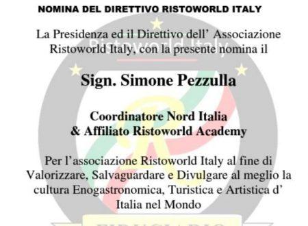 Nomina coordinatore Nord Italia da Ristoword…..