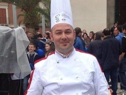 Ricetta regalata dall'Amico Antonino Di Carlo: Gnocchi con pistacchi di Raffadali e gamberoni rossi con maccù di fave