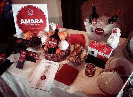 AMARA digestivo all'Arancia Rossa.