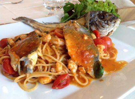 Ricetta regalata dall'Amica Morena Maci: Spaghetti ai sapori di mare