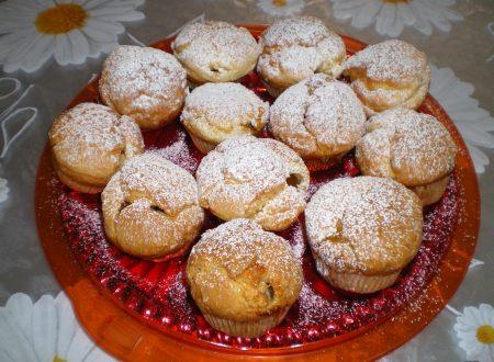Ricetta regalata dall'Amica Nicoletta Semeraro: Muffin con marmellata di albicocche