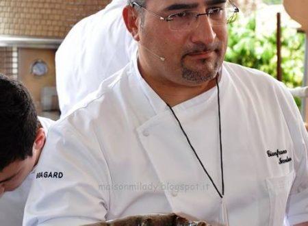 Ricetta regalata dall'Amico Gianfranco Iervolino: Tapas di pizza con carciofi e gamberi