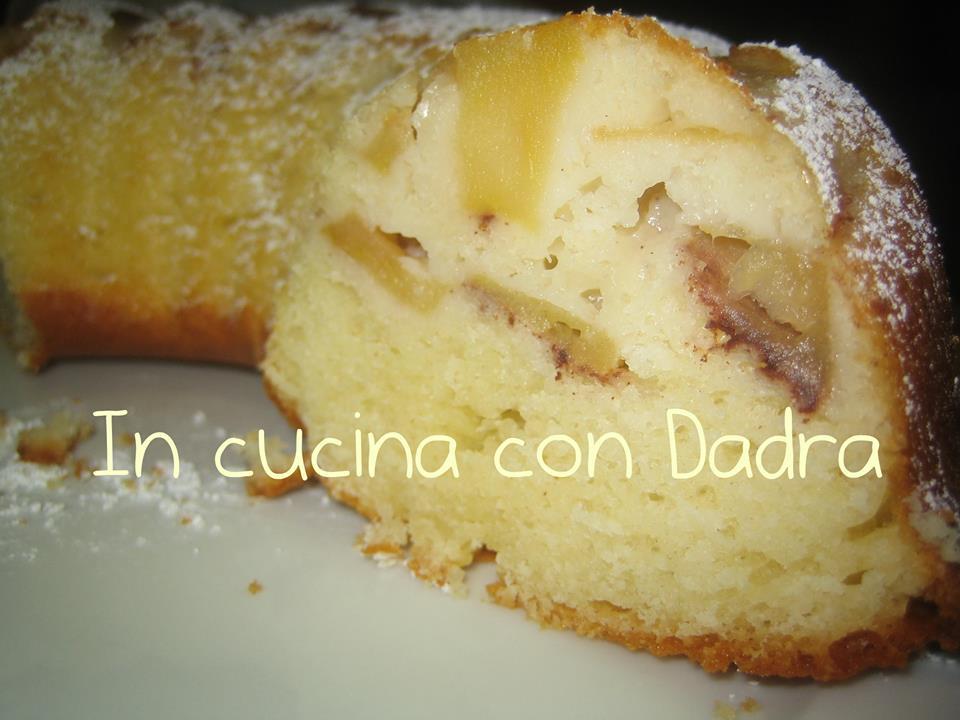 Ricetta Regalata dall'Amica Daniela Dadra Greco: Ciambella sofficissima e profumata alle mele