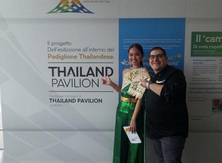 Presentazione del Padiglione Thailandia all'insegna della grande cultura e della cucina