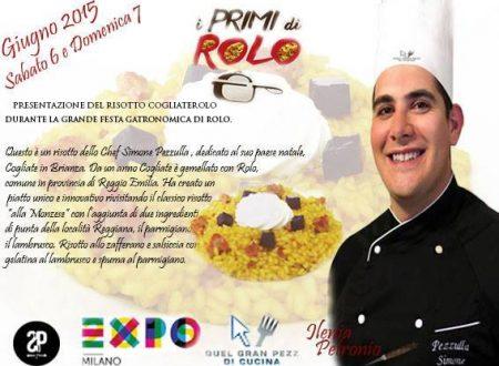 """""""I Primi di Rolo"""" con lo chef Simone Pezzulla"""