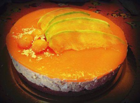 Cheesecake al melone cantalupo di Rosaria Girardi