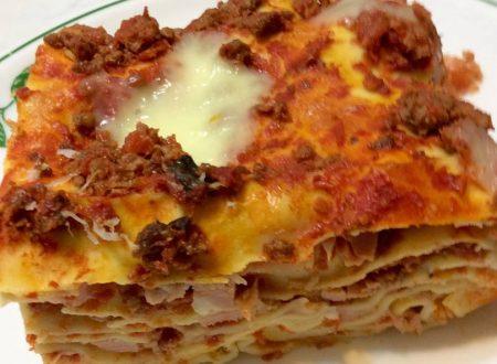 Lasagne della Mia Mamma senza besciamella