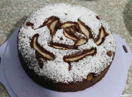Torta pere e cioccolato di Ilaria Pezzulla