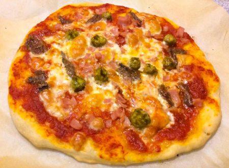 Pizza con farina di farro