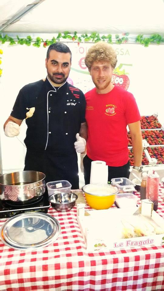 Grande Show Cooking dell Chef Gioacchino Di Franco a