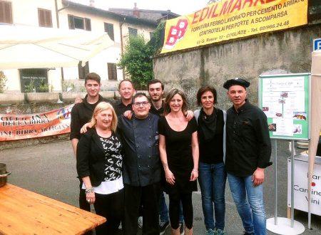 Grandissimo successo per la Festa del Commercio di Cogliate con il suo Chef Simone Pezzulla