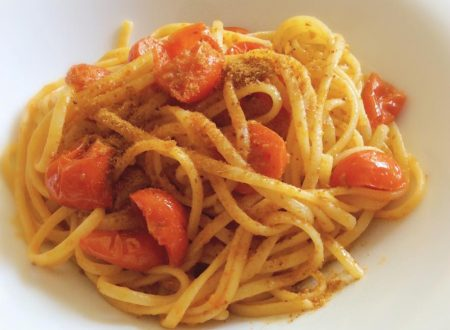 Linguine alla bottarga di muggine