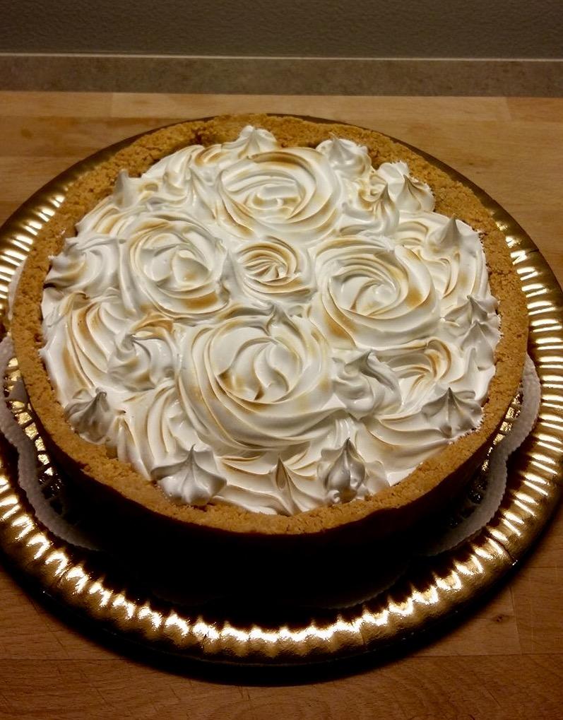 Cheesecake meringata al limone di Marcella Vago