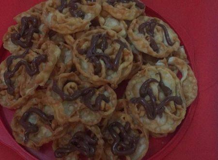 Cartellate alla Nutella di Miryam Gravina