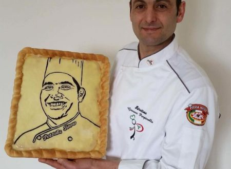 Gianni Pimpinella e la sua Pizza Artistica….
