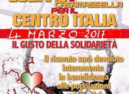 Il Gusto della Soliderietà per il Centro Italia a Uggiano la Chiesa.