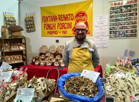I Funghi Porcini Fontana sbarcano alla Fiera dell'Artigianato 2017 a Milano