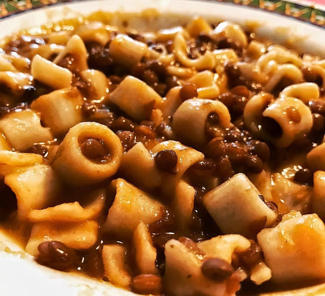 Pasta e lenticchie chefvale for Lenticchie d acqua