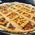 Torta Salata con Stracchino, Prosciutto Cotto e Zucchine